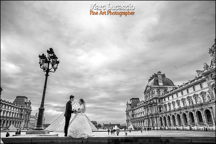 le louvre pre wedding paris