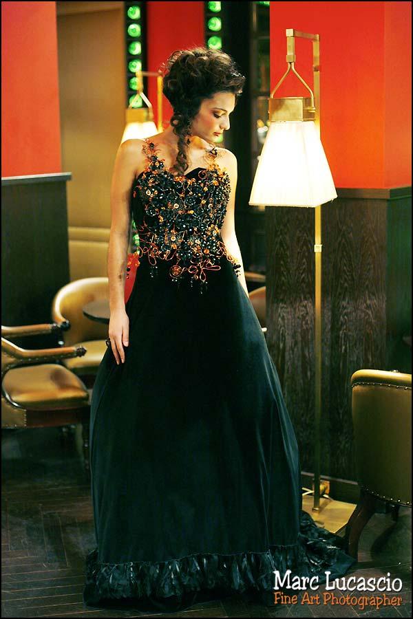 shooting photo mode robe pour mariage