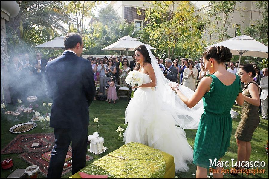 dubai photo mariage cortège