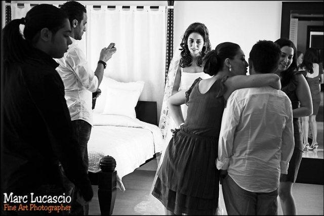 Mariage à Burj Khalifa chambre mariée