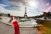 Photographe professionnel Paris, shooting photo mode Tour Eiffel