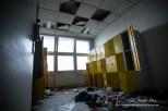 Photographe vestiaire batiment abandonné Paris, photo urbex fine art