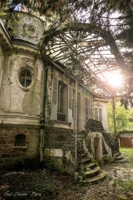 Photographe chateau abandonné ile de france, photo urbex fine art, famous old castle