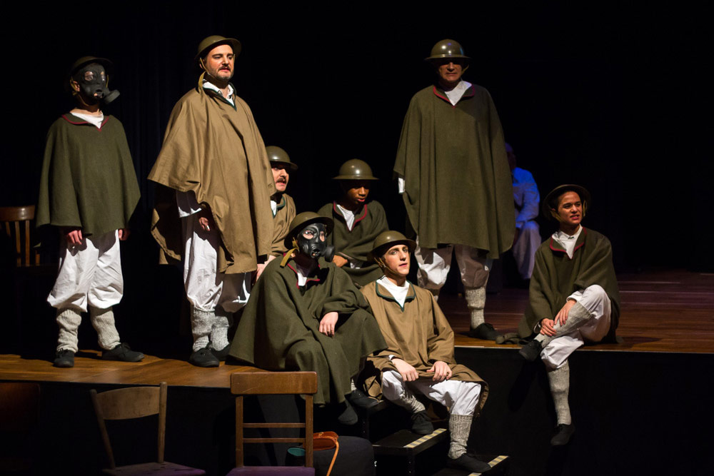theatre photography - Oh, What a Lovely War - Luxembourg