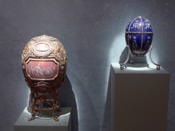 Fabergé eggs at Hillwood
