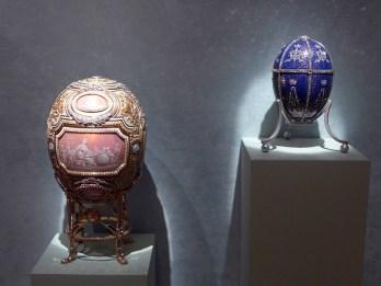 Fabergé eggs at Hillwood