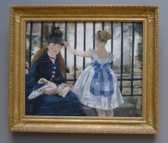 Gare Saint-Lazare, Édouard Manet. 1873,The National Gallery of Art, Washington, DC --- Copyright 2016 DM Shepherd