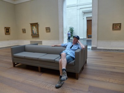 "'My wife knows where to find me..."" The National Gallery of Art, Washington, DC --- Copyright 2016 DM Shepherd"
