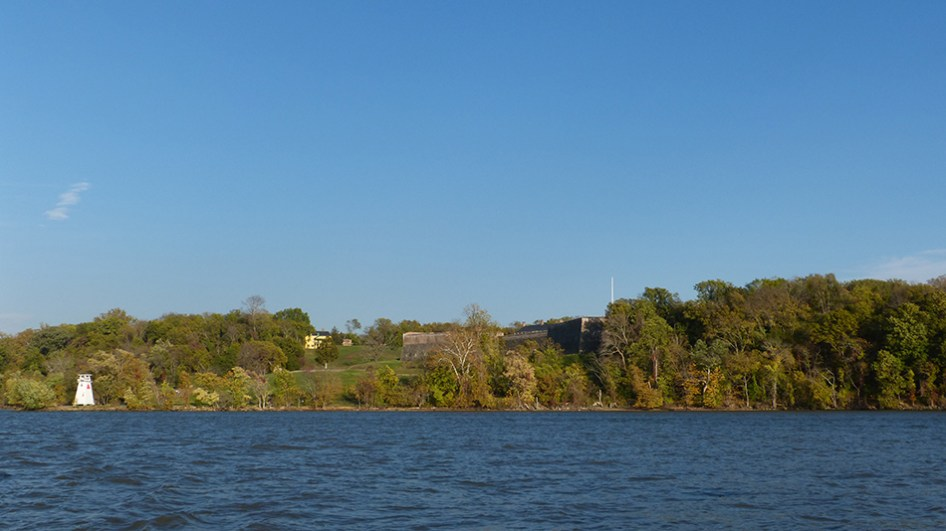 Fort Washinton, Md viewed from the Potomac River