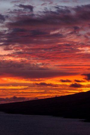 Phenomenal Island Sunset