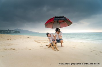 couple photography at surin beach , phuket , thailand