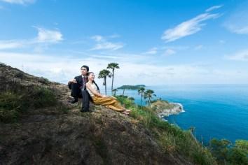 wedding photo shooting at phuket thailand