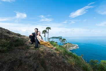 wedding photo shooting at phuket thailand