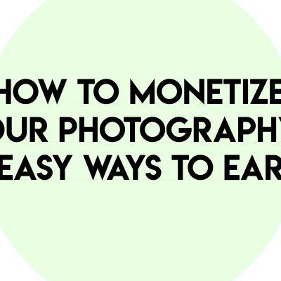 monetizing photography