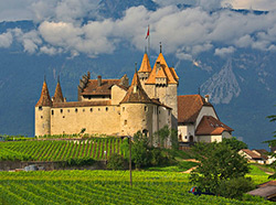 Chateau Aigle, Vaud Canton -Switzerland
