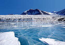 Antarctica Glacier and Sea Ice