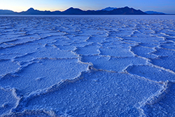 Bonneville Salt Flats Sunset