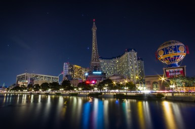 Photographers of Las Vegas - Architectural Photography - paris hotel