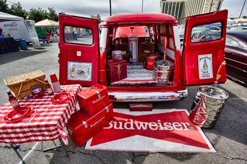 Photographers of Las Vegas - Car Photography - budweiser car