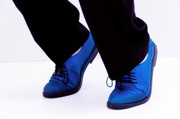 Photographers of Las Vegas - Portrait Photography - Elvis Tribute Artist blue suede shoes