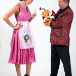 Photographers of Las Vegas - Corporate Photography - terry fator with dummy and assistant