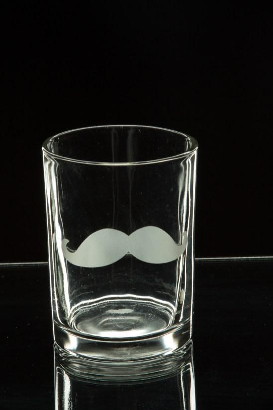 Photographers of Las Vegas - Product Photography - mustache shot glass