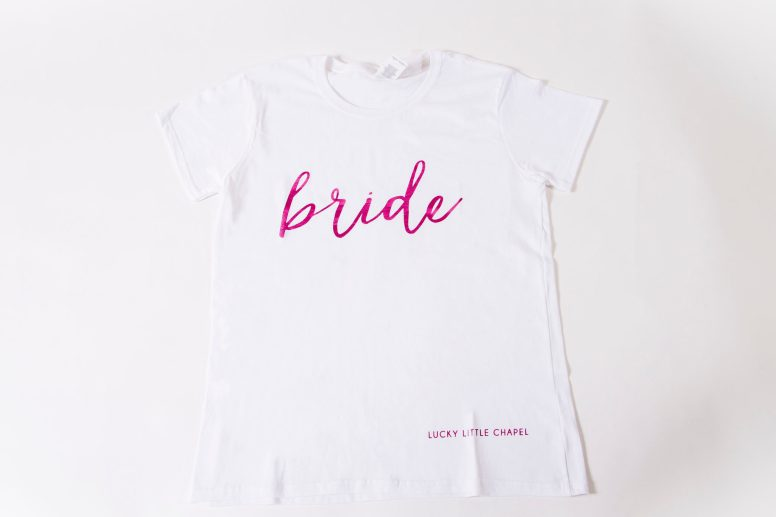 Photographers of Las Vegas - Product Photography - Bride T Shirt