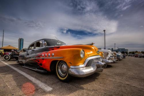 Photographers of Las Vegas - Car Photography - flames on car