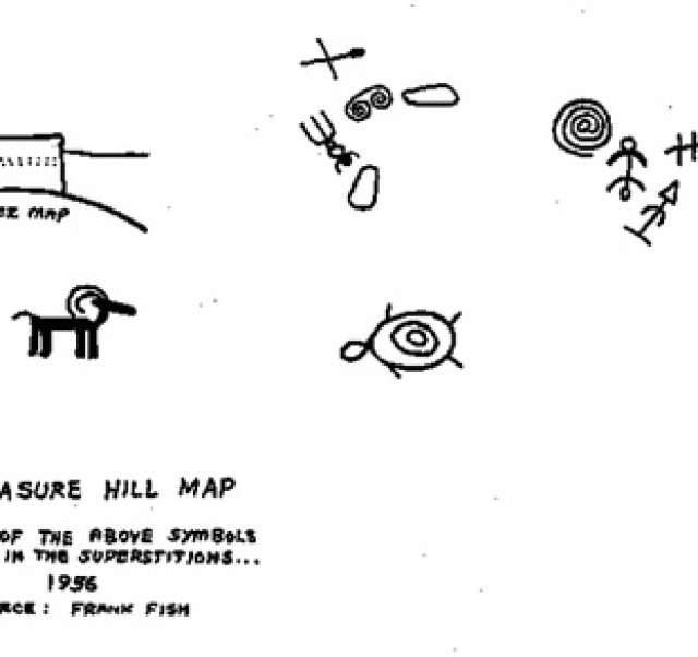 Photographic Images by David: Lost Dutchman Gold Mine Maps &emdash;