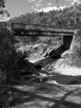 Bridge at Woolshed Falls