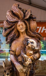 Stihl Wood Carving Competition 2015