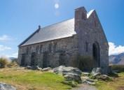 Lake Tekapo -Church of the Good Shepherd