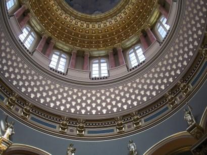 inside capitol dome windows