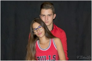 Photo shooting couple couleur