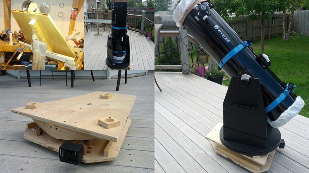 My DIY Equatorial Platform, in Pictures • PhotographingSpace com