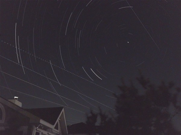 Star Trails by Christopher Becke