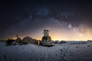 Jean Paul Mission Calern Milky Way
