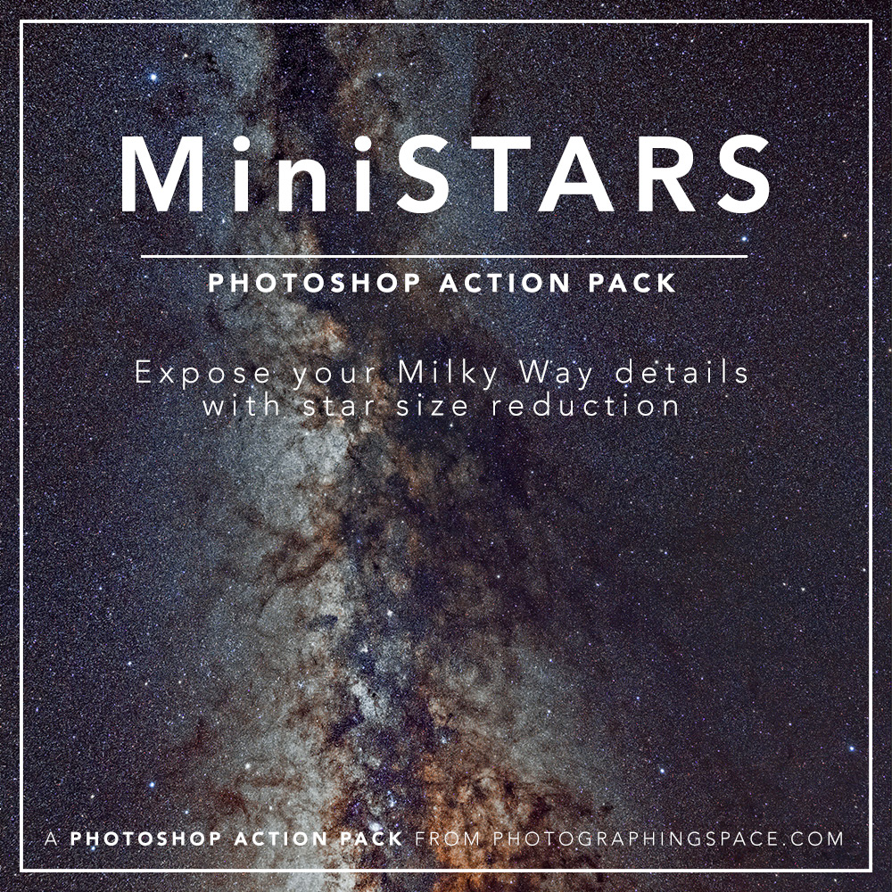 Milky Way Finisher Action Pack Bundle for Adobe Photoshop