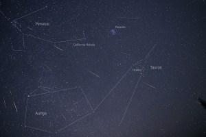 Alex Conu perseids meteors