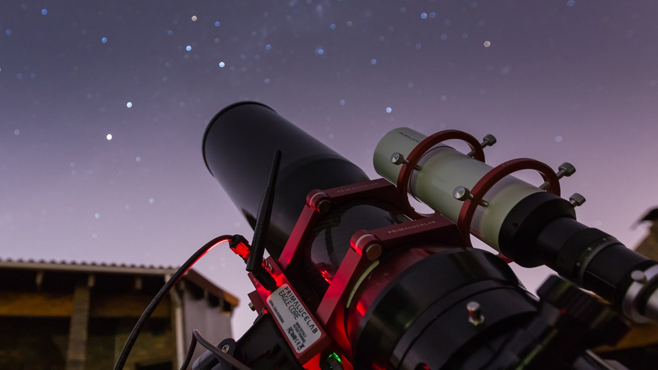 Shooting Omega Centauri with the EAGLE CORE for DSLR