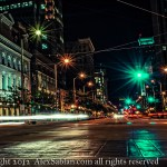 Main Street from the Soldier's Monument - Dayton Photographer Alex Sablan