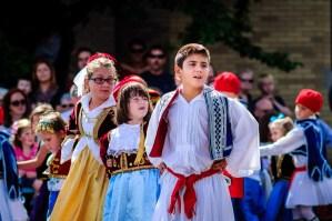 Costumed Dancers at the Dayton Greek Festival - Dayton Photographer Alex Sablan