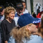 Elizabeth Dole and Honor Flight Members Photo - Dayton Photographer Alex Sablan