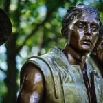 Vietnam War Memorial Statue Photo - Dayton Photographer Alex Sablan