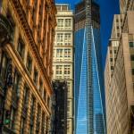 Freedom Tower HDR Photo Taken on Fulton Street Between Broadway and Nassau - Dayton Photographer Alex Sablan