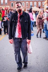 Zombie Walk 2012 by Dayton Photographer Alex Sablan