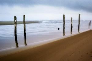 Pacific Beach Pillars by Travel Photographer Alex Sablan