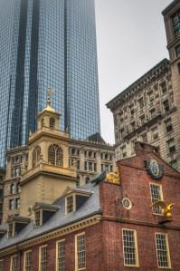 Old State House site of the Boston Massacre - Boston, MA
