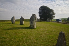 Where two worlds collide at Avebury henge | (C) Chris Hall 2016