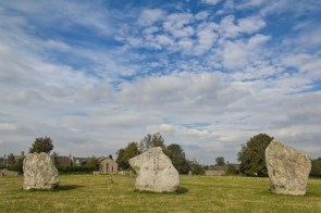 Standing Stones at Avebury henge | (C) Chris Hall 2016